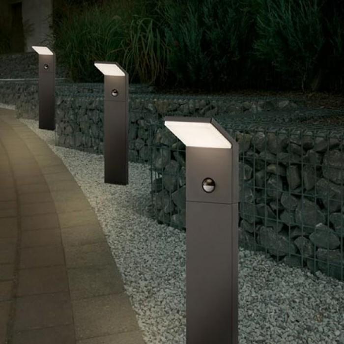Lauko šviestuvas 'Pearl Sensor V2', 100 cm aukščio, LED, pastatomas