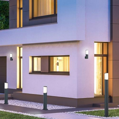 Lauko šviestuvas 'Ticinas' 100 cm aukščio, LED, pastatomas